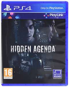 Hidden Agenda PS4 £4.99  (Prime) / £6.98 (non Prime)  Sold by MonsterBid and Fulfilled by Amazon.