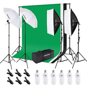 Photography Kit - £103.19 lightning deal @ Amazon / Sold by CraphyUK and Fulfilled by Amazon