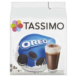 MEGA DEAL Tassimo Oreo 8 Servings 332g 50p + £5.99 Del for 1st Box @ Approved Food