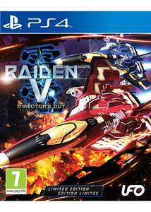 Raiden V: Director's Cut - Limited Edition (PS4) £14.99 Delivered @ Base