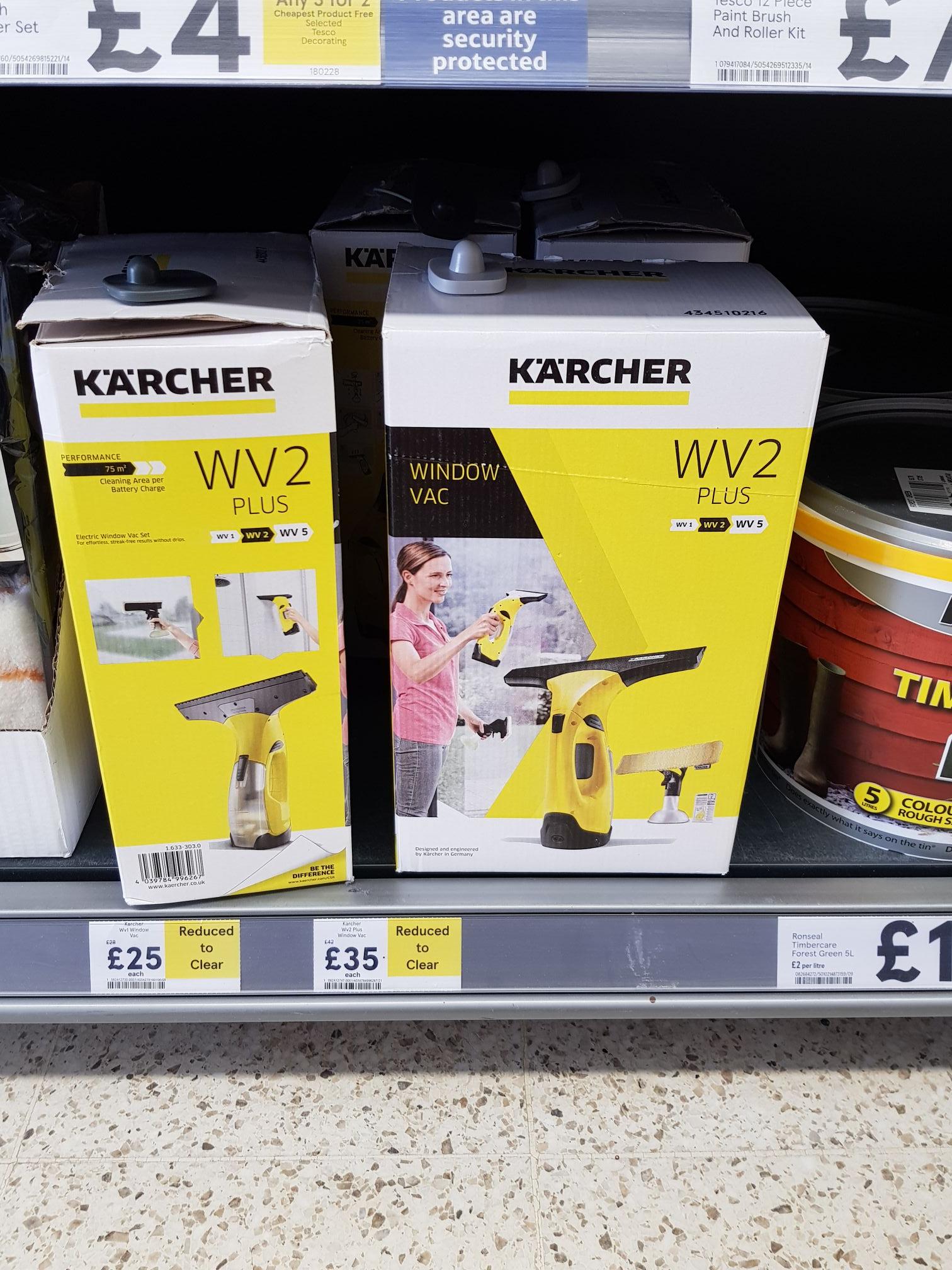 Karcher Window VAC £35 WV2 Tesco Edinburgh in-store
