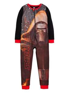 Starwars Boys Fleece Onezie. Was £13 now £5 @ Very. Free C&C