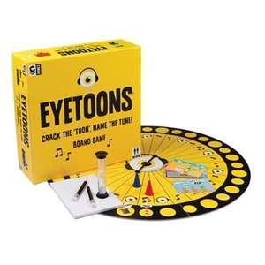 Hacche-Eyetoons Board Game £6 + Free Delivery with code SH4Z at Debenhams