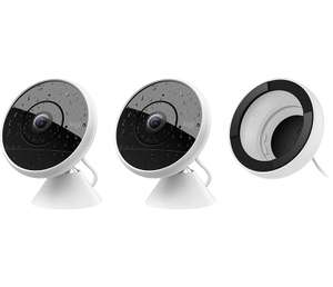 CIRCLE 2 COMBO PACK: 2 WIRED CAMERAS + 1 WINDOW MOUNT - £272 at Logitech