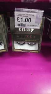 Eylure Luxe Lashes - £1 instore @ Superdrug (Bromborough)