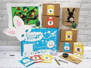 Easter Toucan Craft Box £1 or Two for £2 / 3 for £3 and so on @ ToucanBox (Cancel Sub