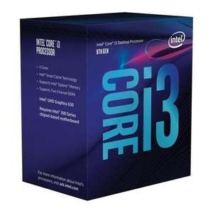 Intel Core i3-8100 1151 3.6GHz Coffee Lake Processor with Code - £89.97 with CHEAT10 @ Laptops Direct