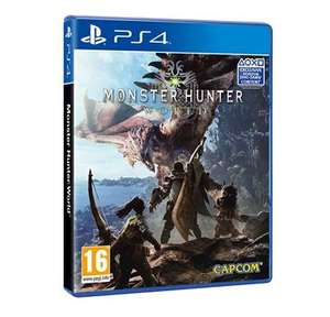 Monster Hunter World PS4 - Used @ graingergames - £36.99