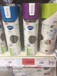 Brita fill & go purple Sainsbury's in-store 50% off £7.50