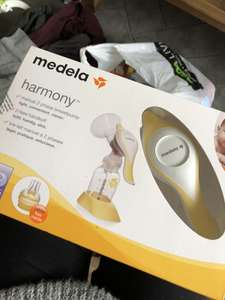 Medela harmony manual breast pump £5 Asda Stafford