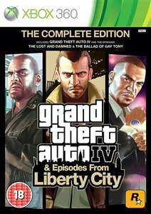 GTA IV complete edition (XBOX 360) - £10 instore / £11.50 Delivered @ CEX