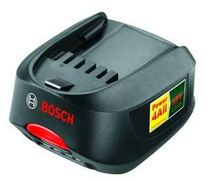 Bosch 18V Lithium-Ion Battery Pack 'Power-4-All' 1.5Ah - £17.38 (Prime) £31.27 (Non Prime) @ Amazon