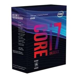 Intel Core i7-8700K Processor £296.97 (i5-8600k also available for £199.77) @ Laptops Direct with code CHEAT10