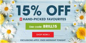 15% off Handpicked Favourites with Code BRILL15 @ Book Poeple