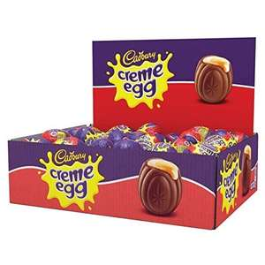 48 Cadbury Creme Eggs - £15.80 (Prime) £20.55 (Non Prime) @ Amazon