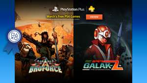 Free PlayStation Plus games for March on PSN PS+ Asia inc. Indonesia and Singapore accounts. *Broforce, Galak-Z, Muramasa Rebirth, Beyond Two Souls, The Last Guy