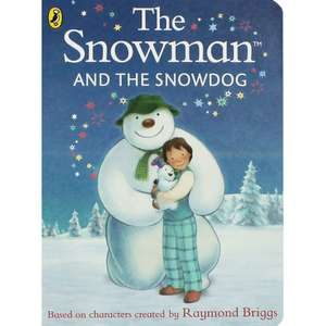 Snowman And The Snowdog Board Book by Raymond Briggs only £2.10 Free C&C @ The Works