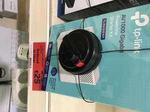 TP-Link AV1000 Gigabit Powerline Starter Kit TL-PA7010 (2x adapters) @ Sainsbury's Headrow, Leeds - £25