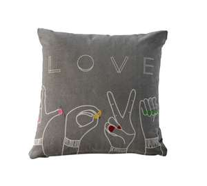 Love design cushion now £3.99 @ Argos