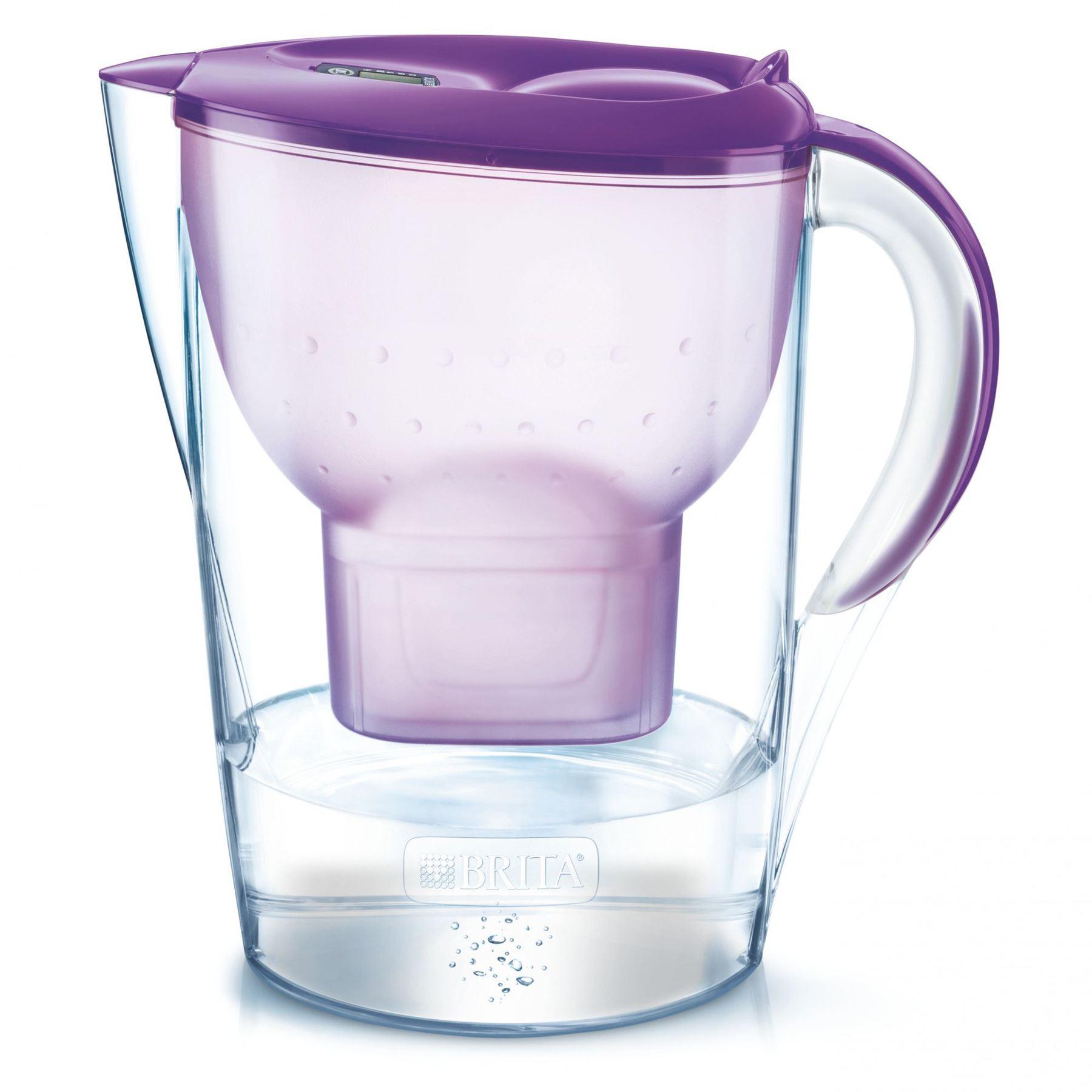 BRITA Marella Cool MAXTRA+ 2.4L Water Filter Fridge Jug + Cartridge - 8 Colours ebay £12.95 @ ozaroo-uk ebay