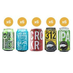 Ultimate Can Pack (30 Cans) for £40 +£4.99 del @ beer hawk