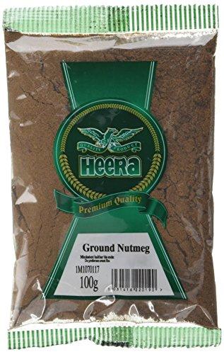 Nutmeg Powder 100 g (Pack of 5) at Amazon (add -on item) £3.99.