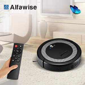 2018 Smart Robot Vacuum Cleaner For Home Remote Control Dust Cleaning Appliances 3 in 1 Cleaners Suction+Sweeper +Mop Aspirator -$99.99 - 118.99 @  Store: SZ Meinier Appliances Store AliExpress