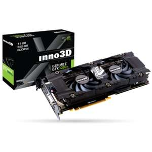 INNO3D Twin X2 GeForce GTX 1080Ti 11GB GDDR5 Graphics Card - £596.98 @ Laptops Direct
