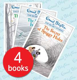 Enid Blyton - The Secret Stories Collection - 4 Books £8.89 (includes £2.95 postage) - The Book People
