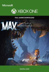 Max: The Curse of Brotherhood - Xbox One Digital Code - £2.99 @ CDKeys