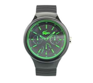Lacoste Men's Borneo Silicone Strap Watch, Argos, available stock £41.99 !!! Home Delivery add 3.95