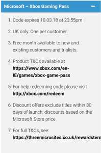 Game Mobile Xbox discount offer