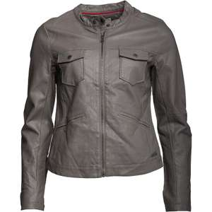 Converse Womens Sabra Pocket Biker Jacket Charcoal Grey £19.48 delivered @ M&MDirect