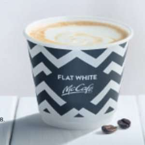 Free McDonald's Flat White  - Metro newspaper -  28th Feb (use by 1st March)