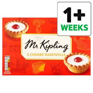 Selected Mr Kipling Pies/Bakewells/Cake Slices 1/2 Price 82p onwards @ Tesco