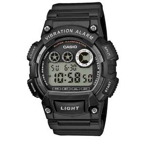 Casio Mens Unisex Digital LCD 100M Sports Watch with Chrono and Alarm etc. - Model Ref. W-735H , £17 delivered at 7dayShop