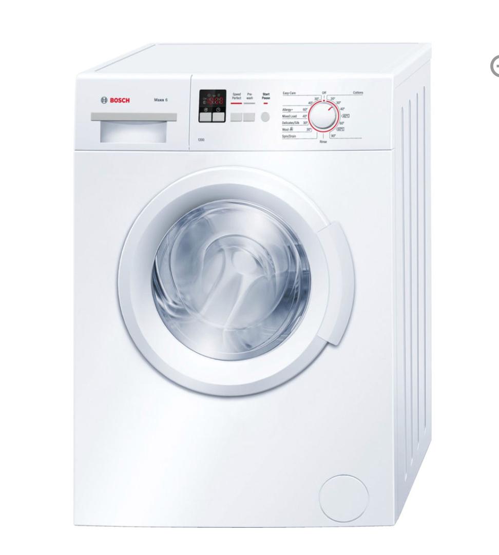 BOSCH WAB24161GB Washing Machine - White , £291.99 @ Currys . Delivered