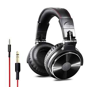 Over Ear Headphones Closed Back Studio DJ Headphones for Monitoring, Adapter Free, Noise Isolating Wired Headsets £20.99 Sold by OneOdio and Fulfilled by Amazon.