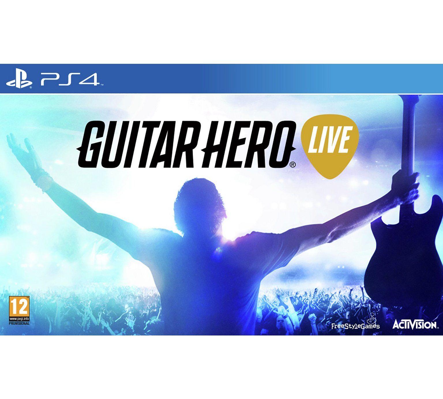 Guitar Hero Live - PlayStation 4 £13.99 at Argos
