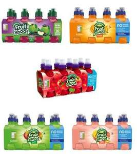 Fruit shoots No Added Sugar 8 x 200ml Various Flavours (see post) Reduced to £1 at Morrisons