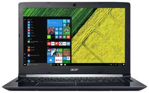 Acer 15.6 Inch HD Intel i5 2.5GHz 8GB 256GB Windows 10 Laptop - Black - £414.99 @ Argos / eBay (Refurbished)