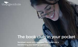 Free Books via Pigeonhole App - book club