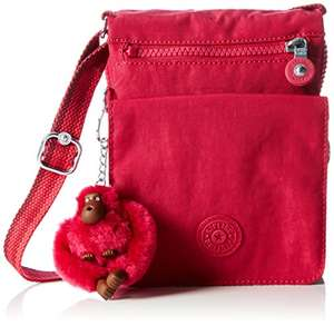 Kipling Womens Cherry Pink Eldorado Cross-Body Bag £22.50 (RRP £ 45) @ Amazon