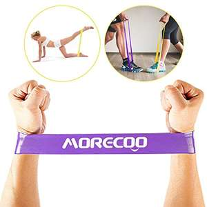 Exercise Bands & Stretch Loops, Yoga Crossfit or Physical Therapy - £5.79 Prime/ £9.78 non Prime - Sold by morecoo and Fulfilled by Amazon