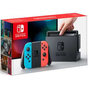 Nintendo Switch Console Neon (Refurb with 12 month Tesco Warranty) - Tesco eBay £239 + £3 Delivery Total £242