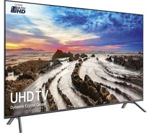Samsung ue49mu7070, sound bar and 4k player for £1148 at Currys plus £200 cash back from samsung