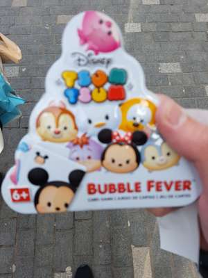 Tsum Tsum bubble fever - £1 instore @ Poundland