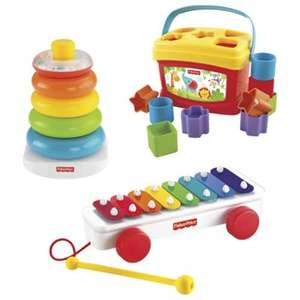 Fisher Price Classic Infant Trio Gift Set was £34 now £15 C+C @ Tesco Direct
