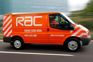 RAC Breakdown Cover £34.99 + £11 Quidco