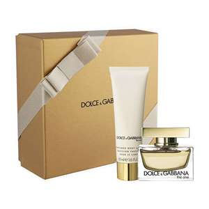 Dolce & Gabbana The One Gift Set 30ml EDP + 50ml Body Lotion For Women now £33.45 Delivered w/code @ Fragrance Direct (More in OP)